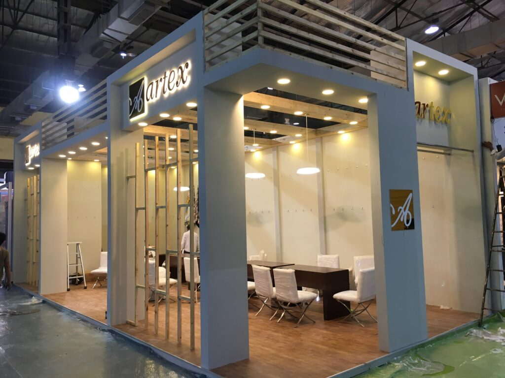 technology driven booth design