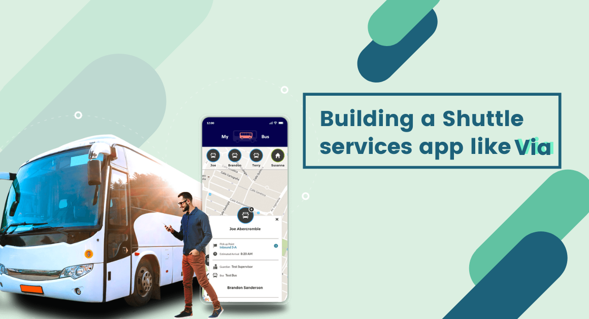 Building a shuttle services app – ride share service