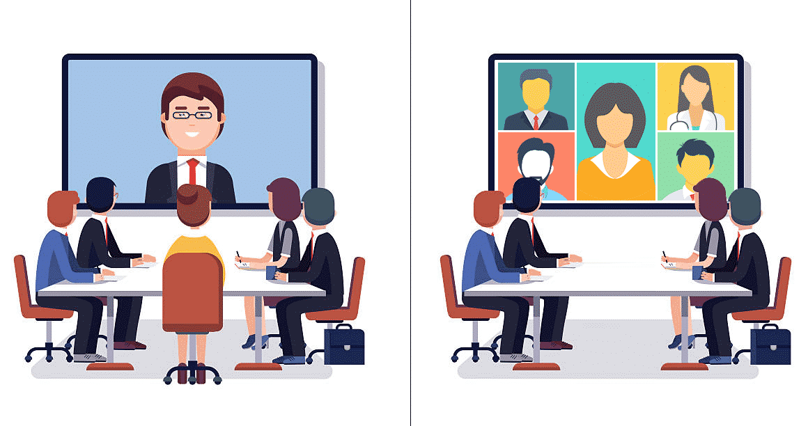 How Video Conferencing Differ From Web Conferencing?