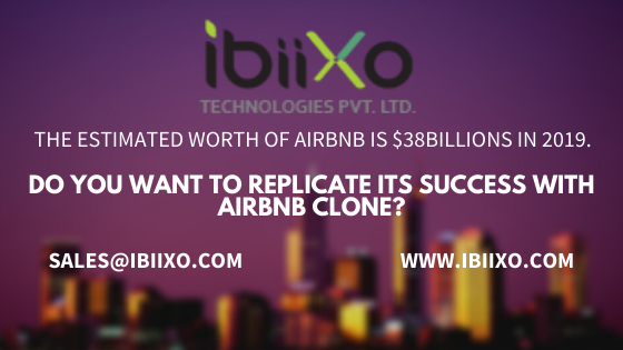 The estimated worth of Airbnb is $38Billions in 2019. Do you want to replicate its success with Airbnb Clone?