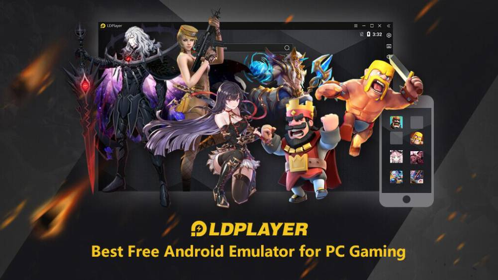 Best Free Android Emulator for PC Gaming | LDPlayer