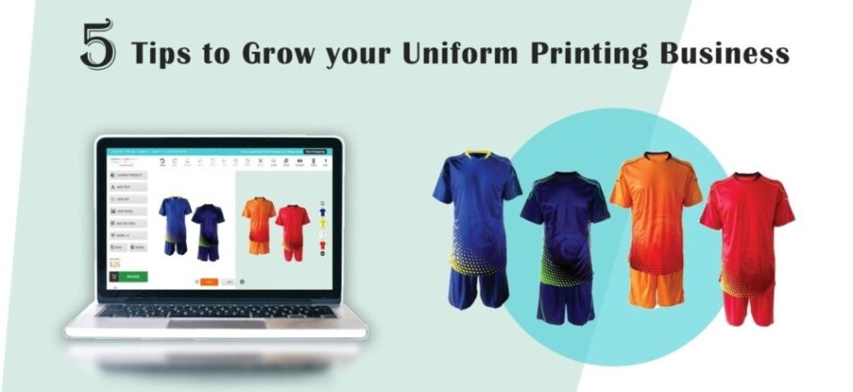 5 Ways to Expand Your Uniform Printing Business