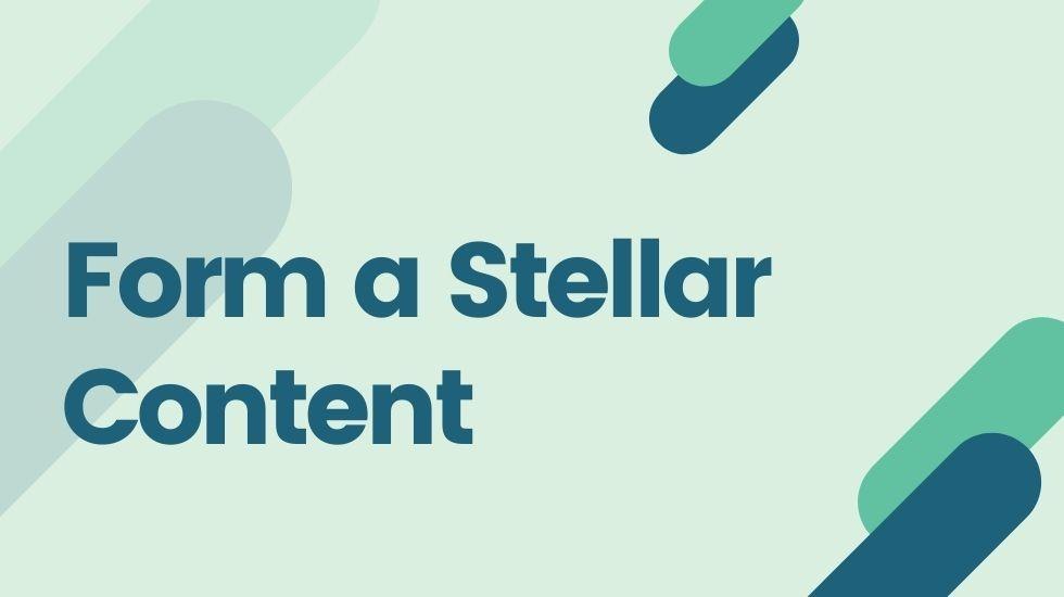 Form a Stellar Content