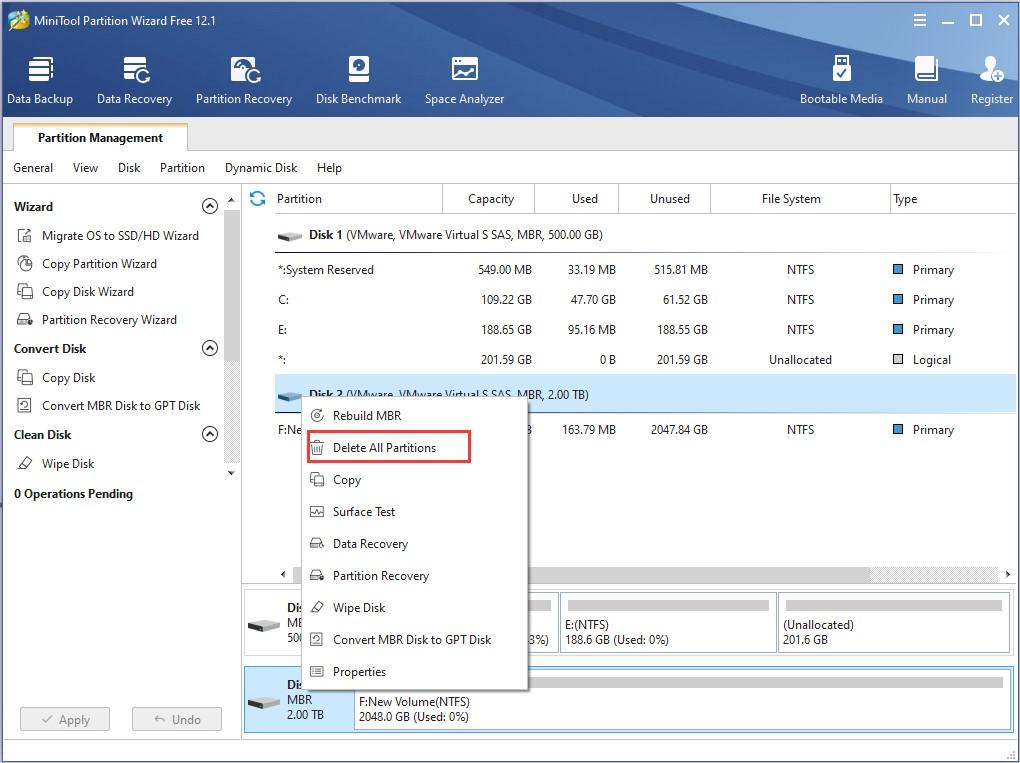 Disk Manager Software