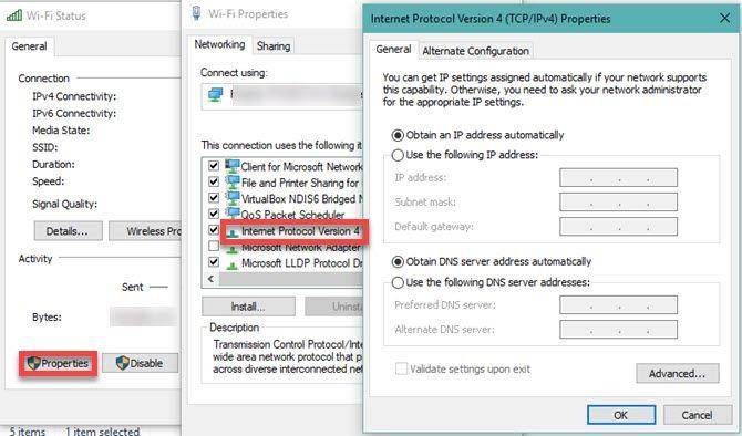 networks proxy settings 2