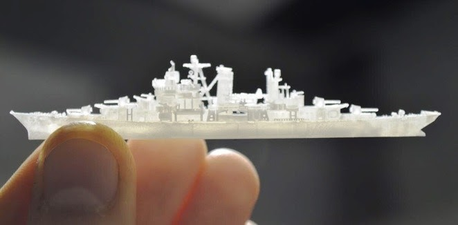 This 3D ship model is impressively realistic.