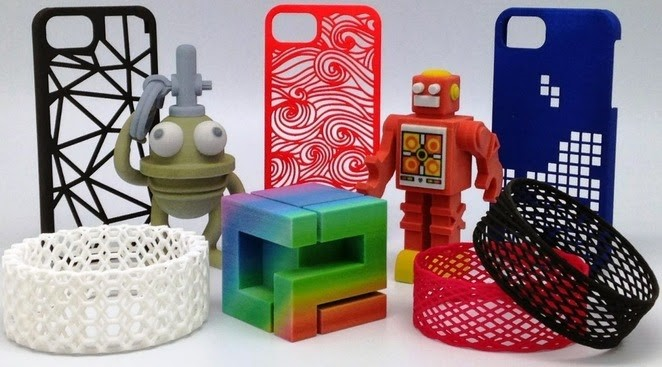 Souvenirs and toys can be successfully 3D printed