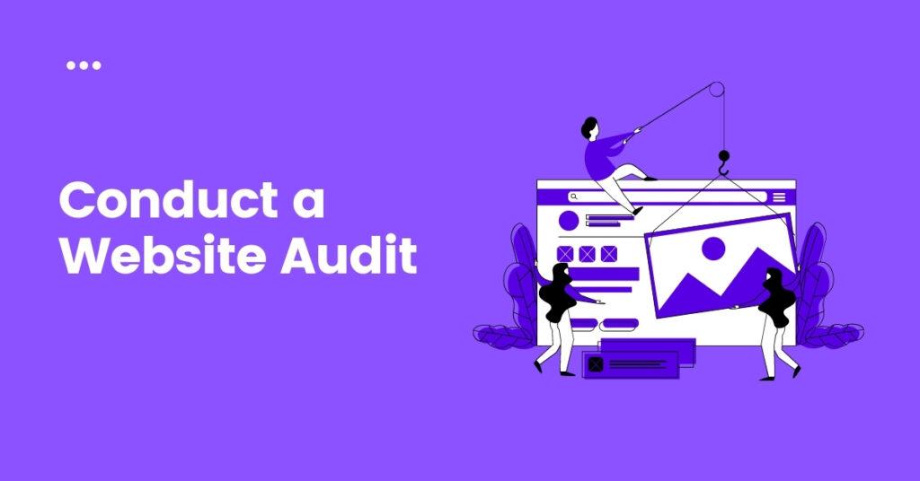 conduct a website audit